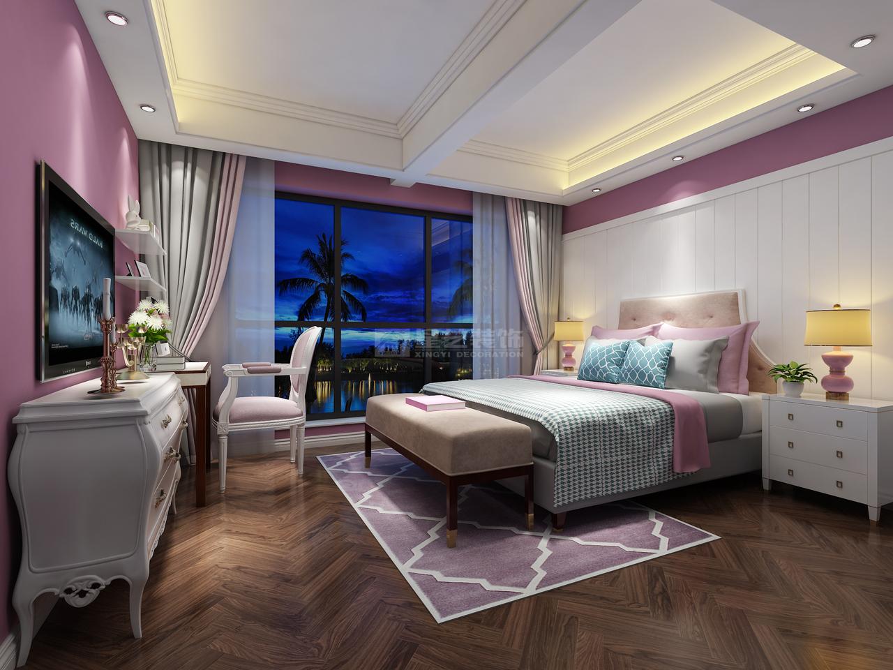 美的林城时代,饱含浓厚岁月感的传统美式风!,美式,别墅,320.0㎡