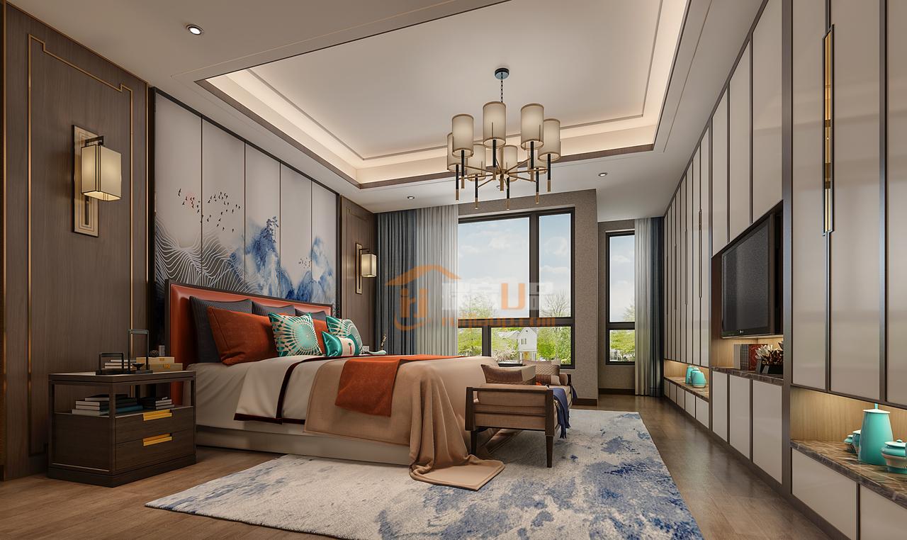栗色+蓝色,犹如礁石与大海,冷静而沉稳的色调配搭将理性的优雅魅力最大化彰显。用在家居设计中,无论是时尚简约的现代格调,还是典雅华美的古韵风情,如此优雅的色彩,都能轻松演绎。