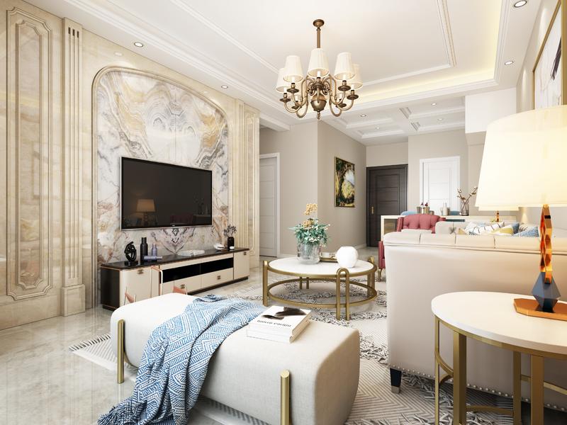 新中式风格,现代 ,贵阳别墅装修公司,贵阳星艺装饰,四居室装修设计