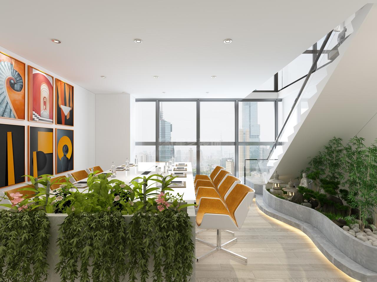 贵州允道公司未来方舟D简约,后现代,二居室,133.0㎡