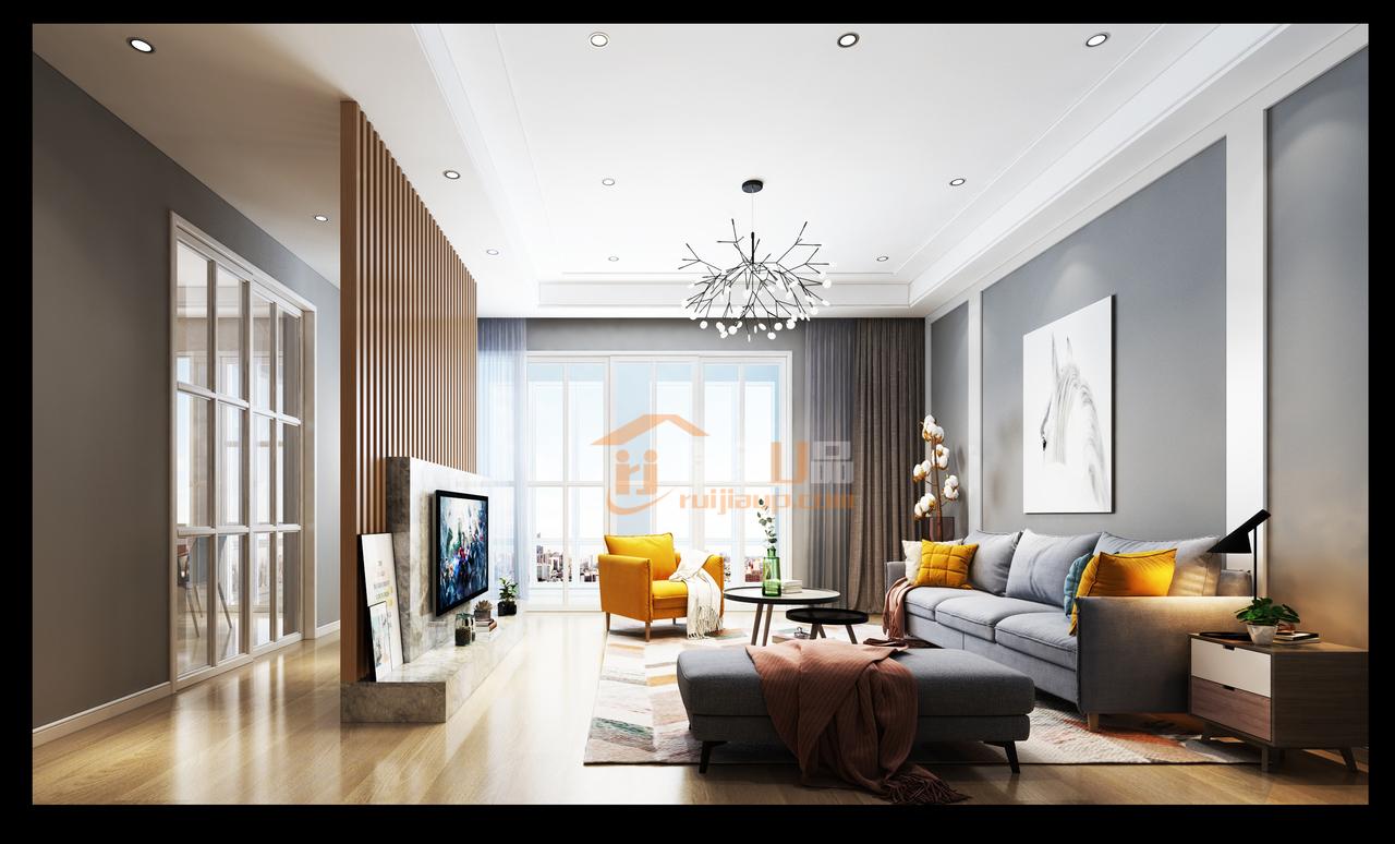 隔着屏幕就能感受到一股舒适的居家之生活气息~高级灰与原木色还有黄色、白色、蓝色等色的搭配,显得简单、干净又给人一种特别舒适的感觉~简约、舒适又有范儿~
