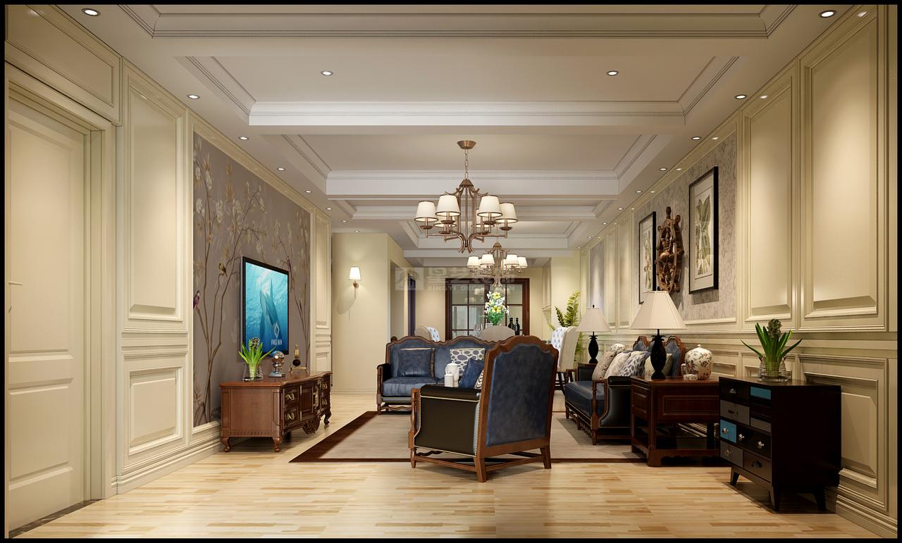 首开紫郡室简约,现代简约,单身公寓,205.0㎡