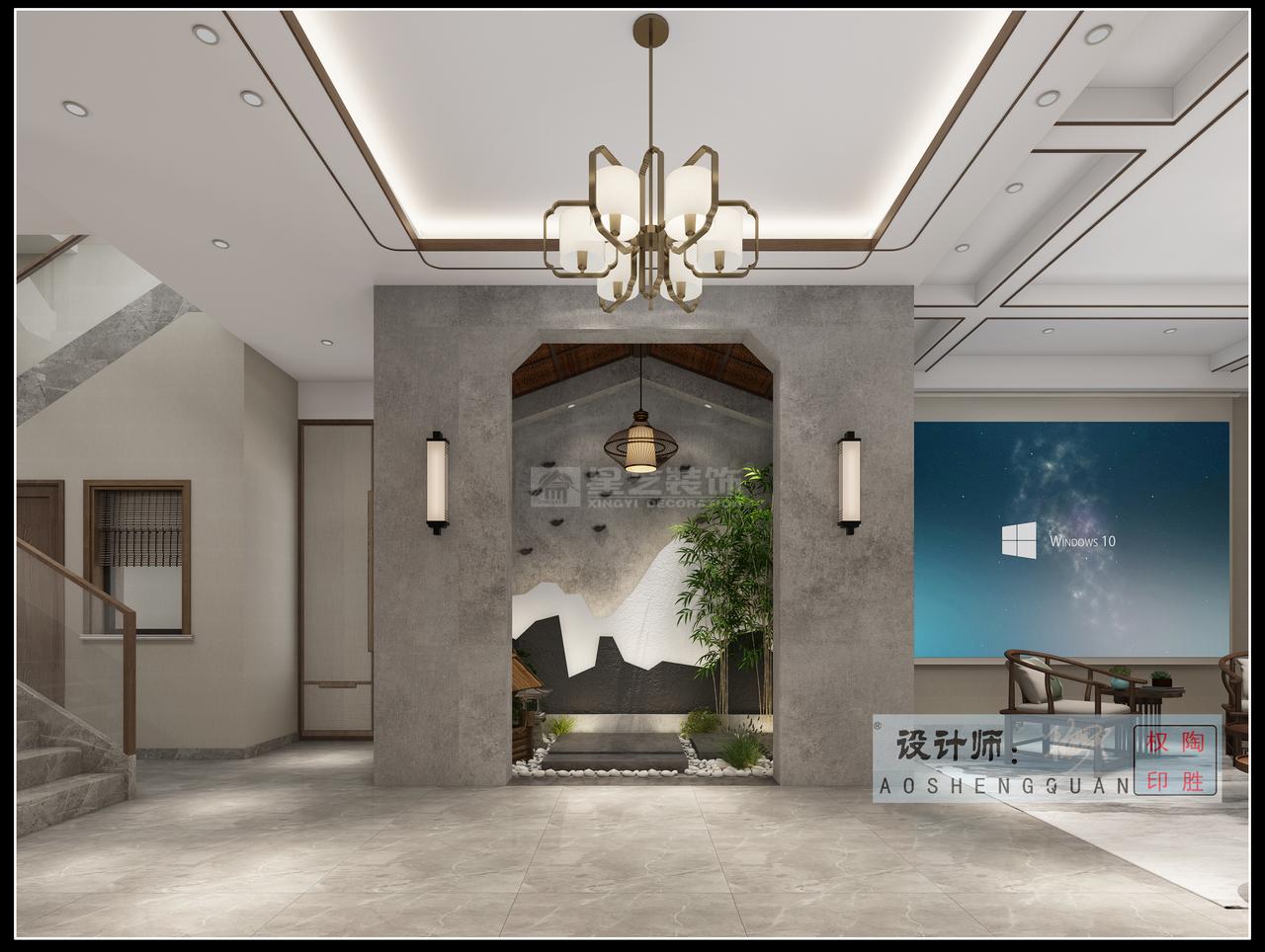 贵阳美的林城时代新中式与轻奢风的巧妙碰撞的现代中式风格,彰显永恒美感!整体设计优雅大气、浑然一体,并利用陶瓷、字画、茶器、盆栽等富有古典韵味的物件,来丰富整个空间层次,完美展现中国传统艺术的永恒美感。