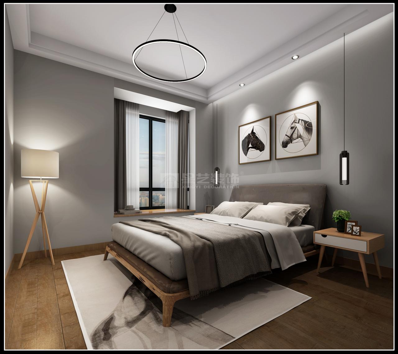 世纪城简约两居小户型装修设计,当现代遇上高级灰,为你呈现居家之美