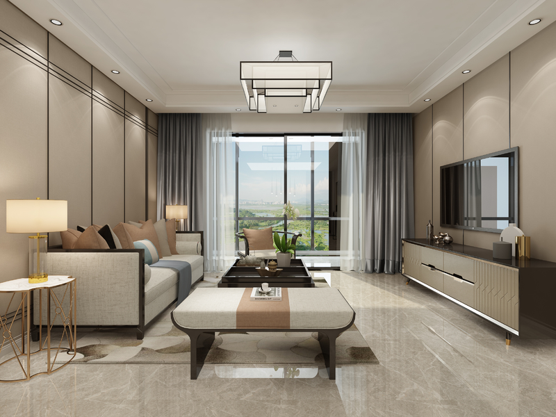 新中式风格,轻奢风格,贵阳装修公司,贵阳星艺装饰,贵阳别墅设计