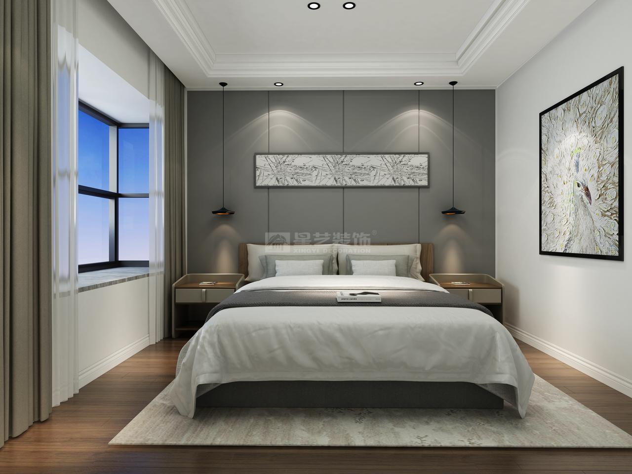 万科公园传奇室现代,韩式,单身公寓,130.0㎡
