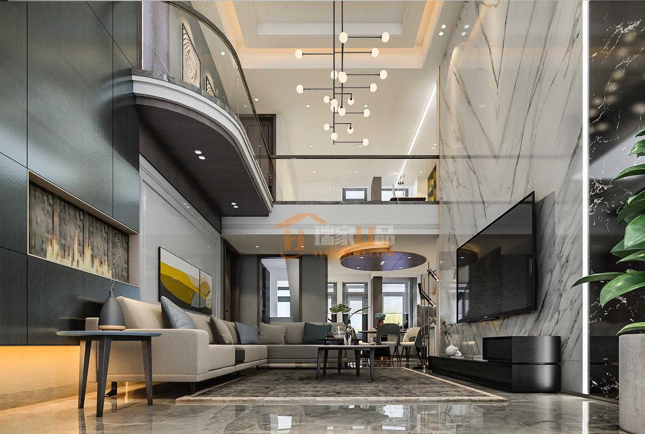 贵阳金阳新世界嘉苑这套复式楼装修设计来自星艺装饰贵阳装修公司作品。装修设计预约:0851-84875896.
