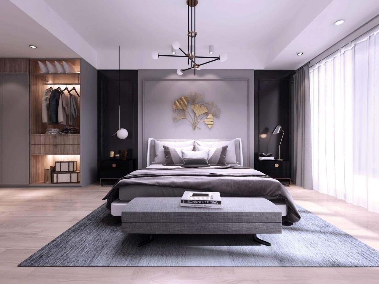 【金阳新世界嘉苑】给人前卫、不受拘束的简约舒适感设计!,简约,四居室,300.0㎡
