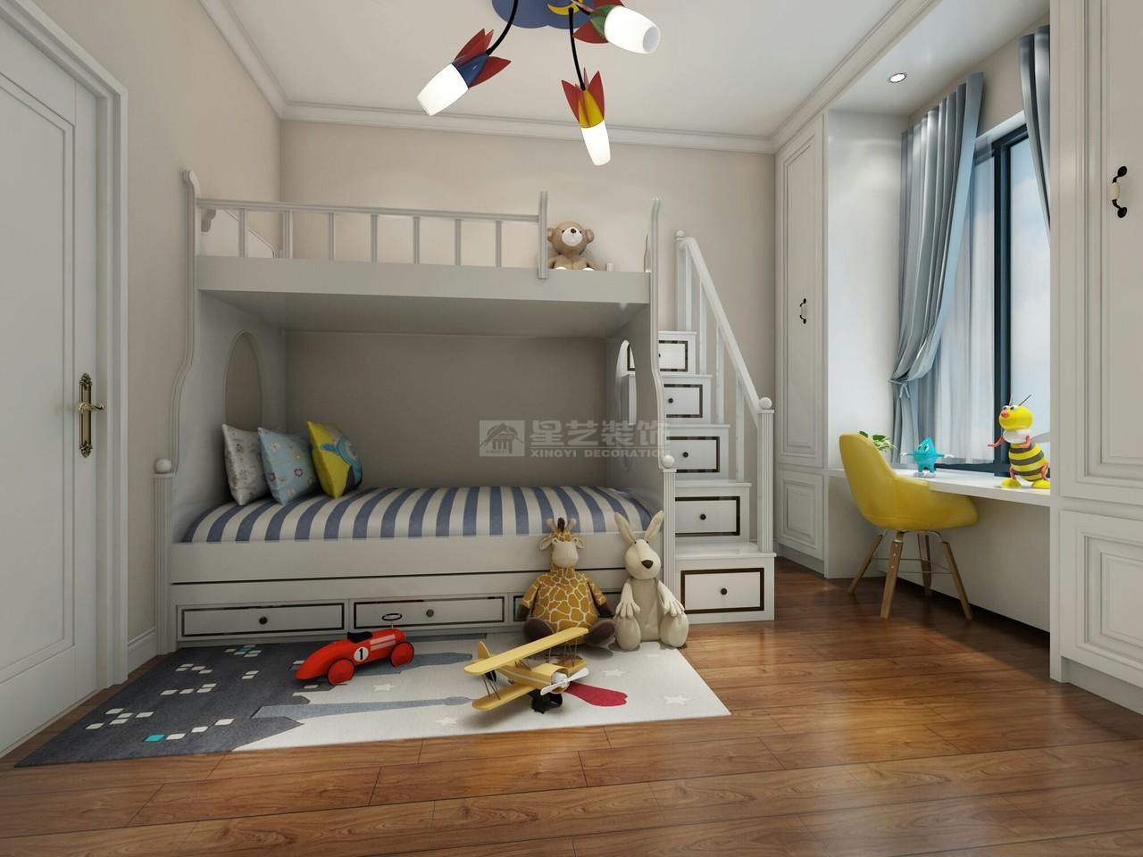 美的林城令人心弛神往的写意简欧空间,日式,单身公寓,127.0㎡
