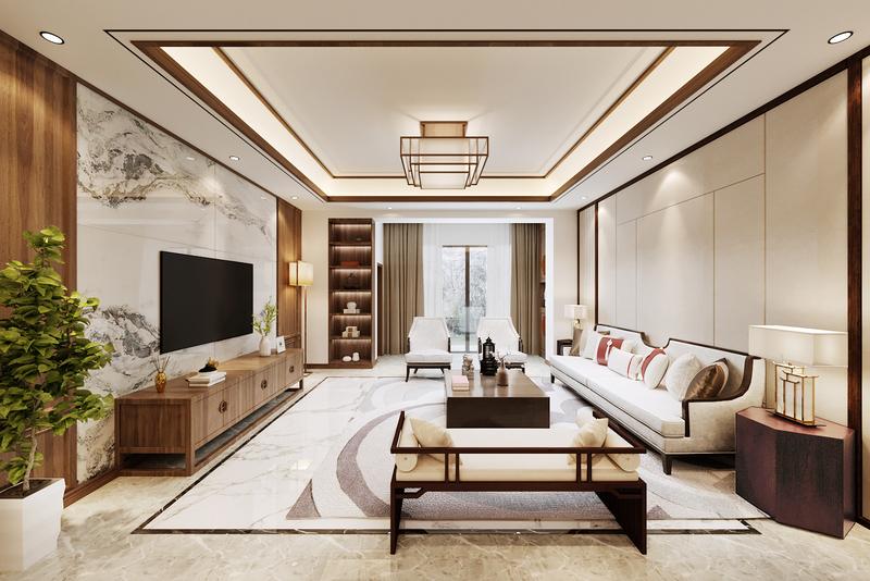 新中式风格,现代风格,轻奢风格,贵阳别墅装修设计,贵阳星艺装饰,贵阳装修公司哪家好