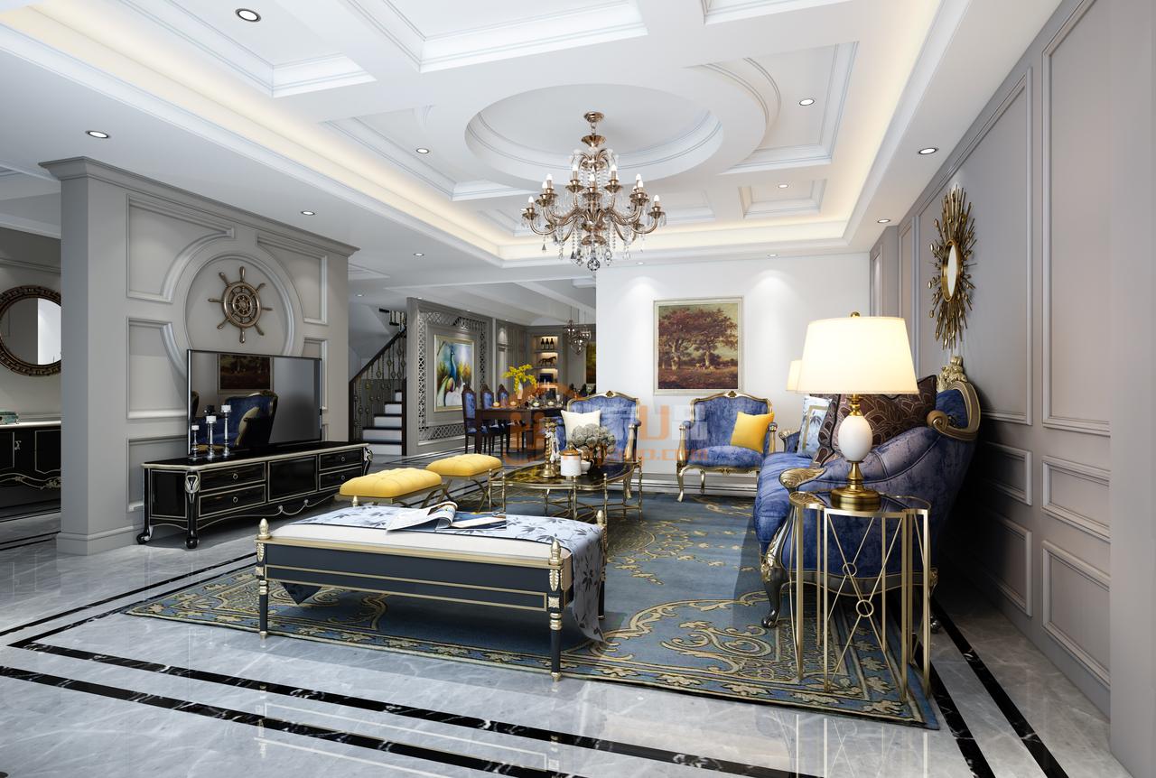 未来方舟营造时尚、高贵、轻松愉悦的视觉空间感欧式风格!