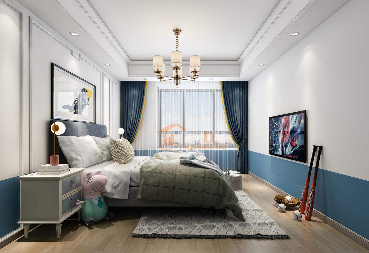 贵阳装修,未来方舟欧式风格儿童房设计效果图!