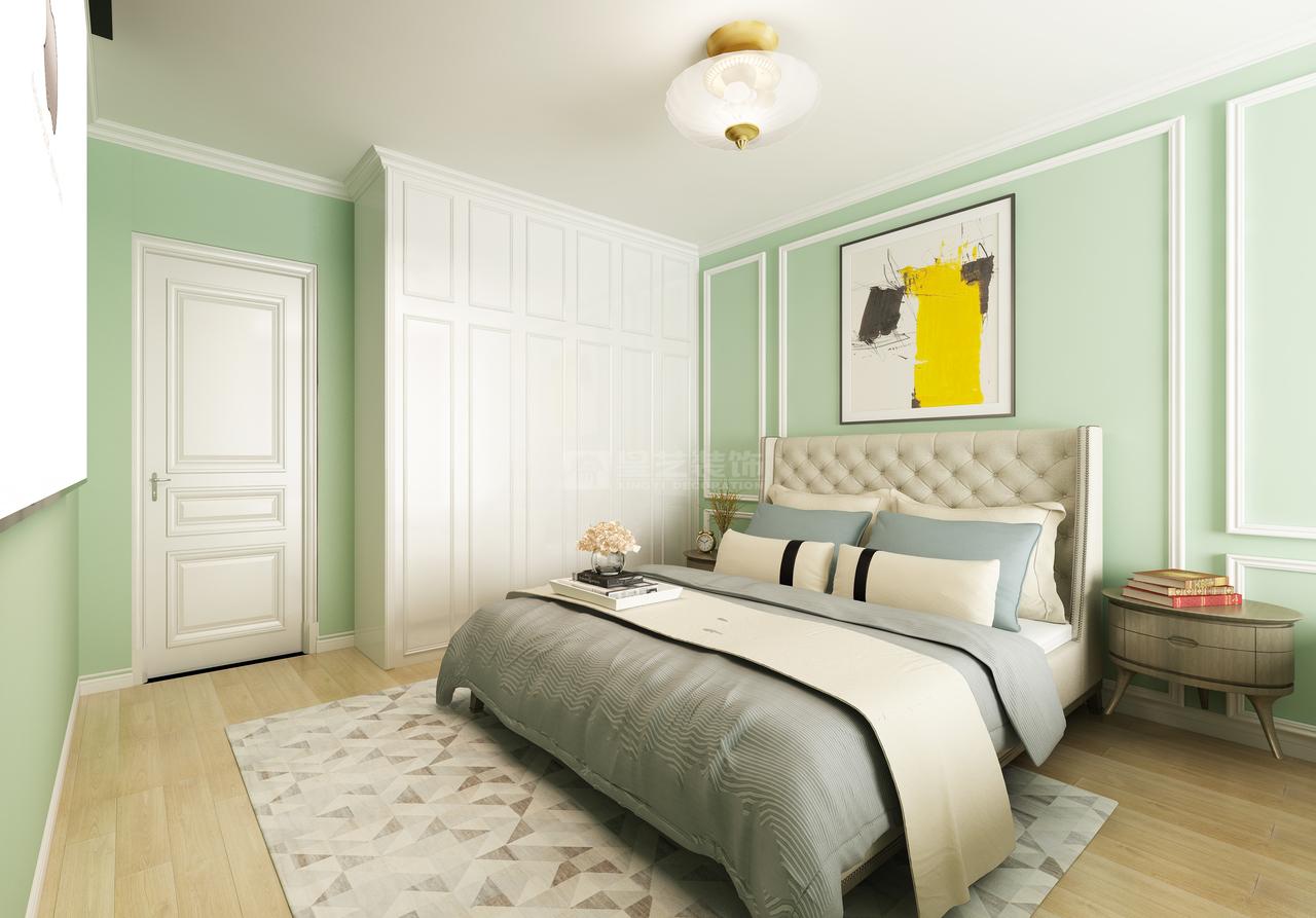 恒大中央公园A--美式,美式,三居室,160.0㎡
