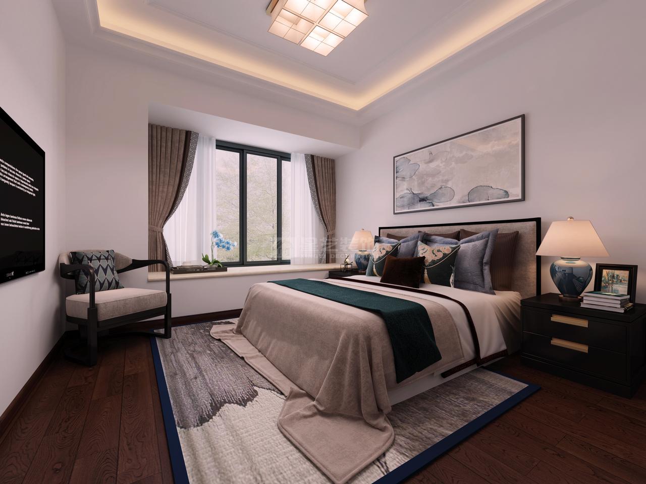 现代简约风格卧室设计-现代简约风格,简约而不简单的设计!