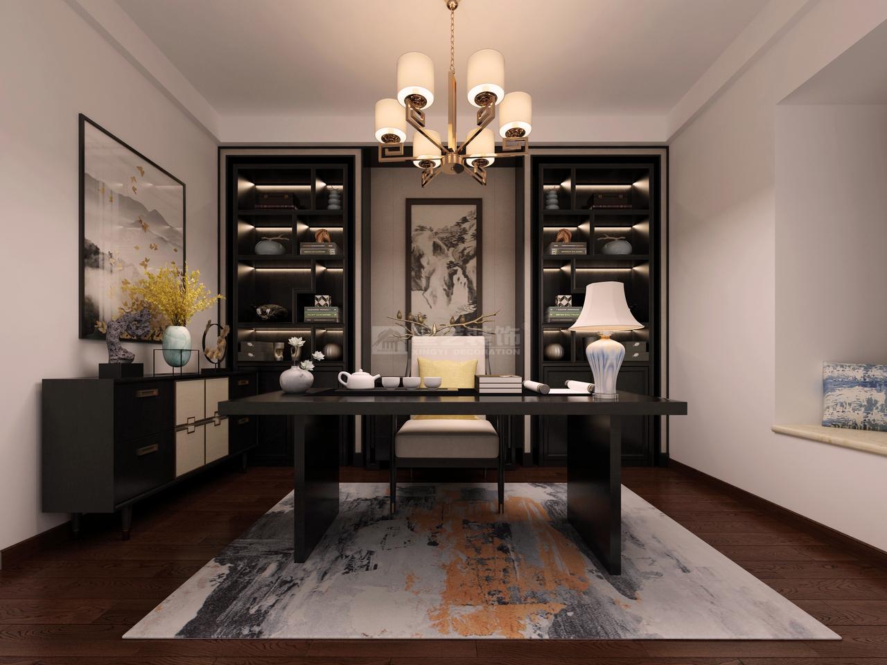 现代简约风格书房设计-现代简约风格,简约而不简单的设计!