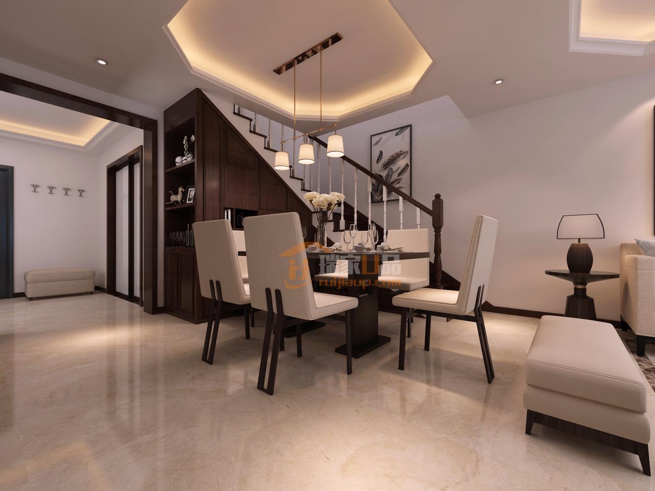现代简约风格餐厅设计-现代简约风格,简约而不简单的设计!