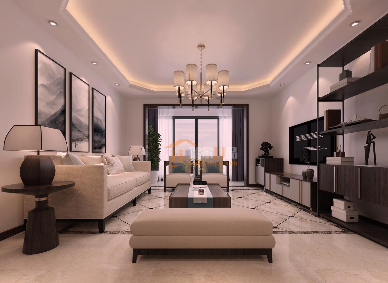 现代简约风格客厅设计-现代简约风格,简约而不简单的设计!