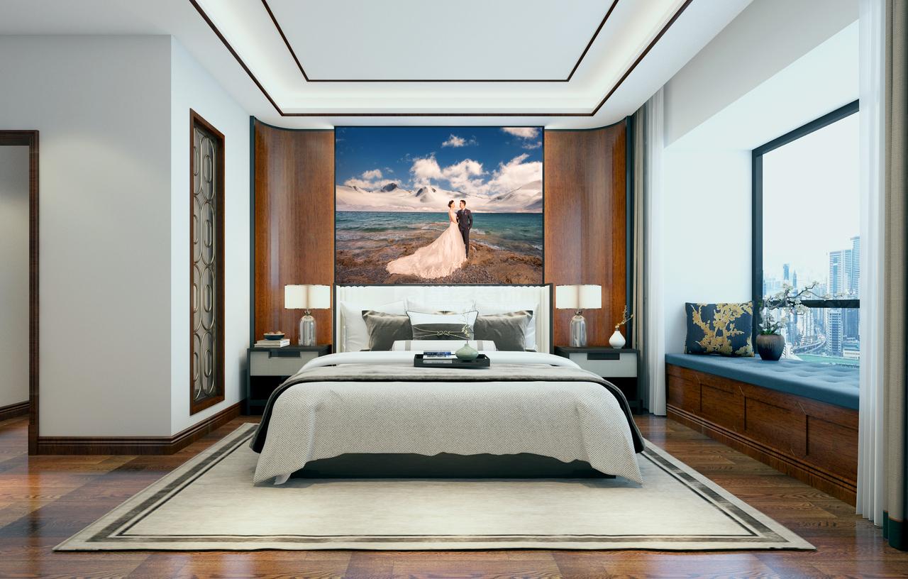 贵阳花果园S3新中式风格大平层装修设计效果图