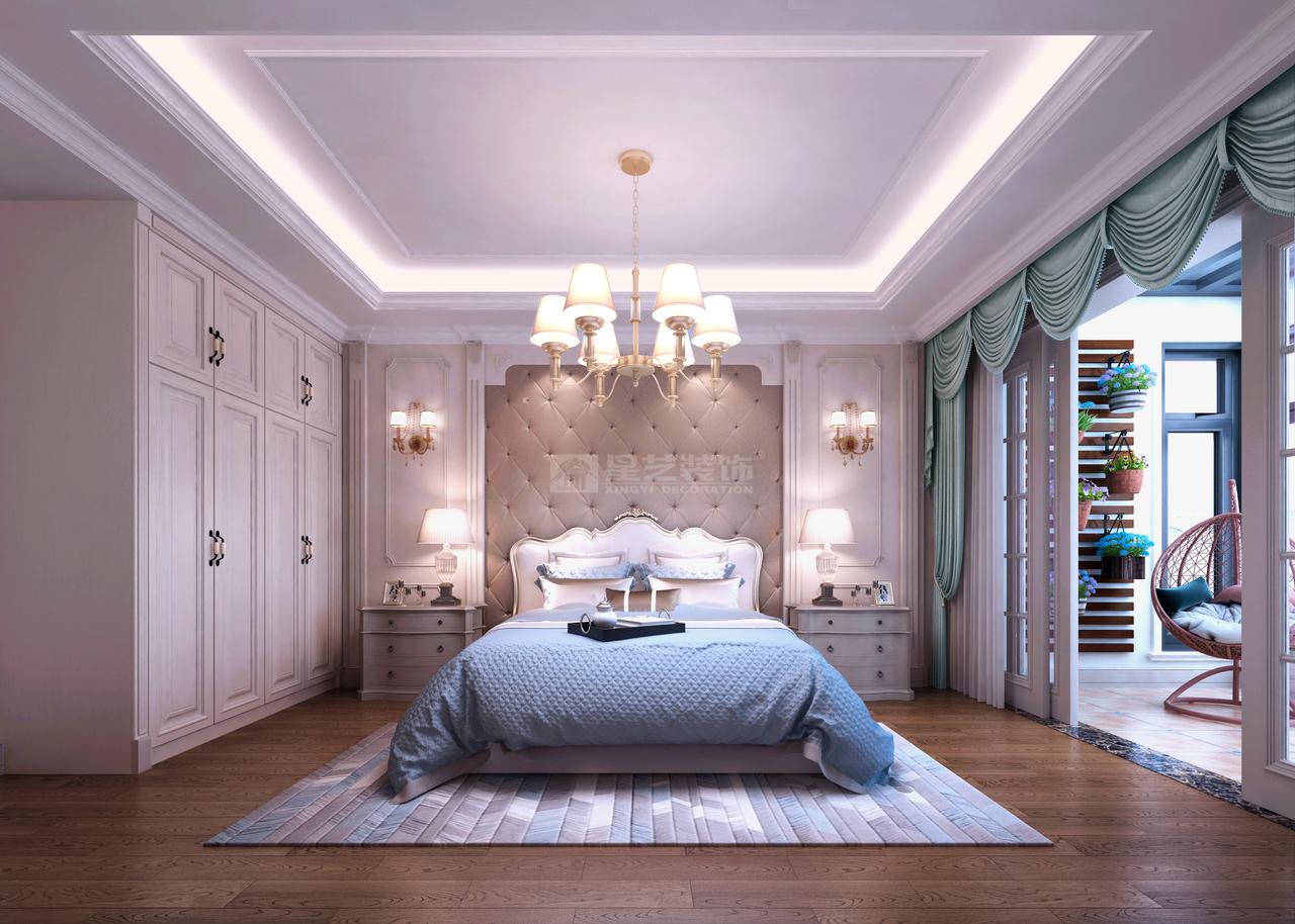 该案为星艺装饰贵州有限公司首席设计师易洪忠设计。预约装修设计:0851-84875896